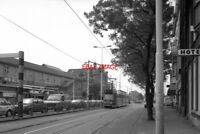 PHOTO  1990 NETHERLANDS DEN HAAG TRAM HTM HOLL. SPOOR TRAM NOS 3005 ON ROUTE NO