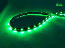 Tira de Luz LED Flexible Impermeable 30cm 15LED 3528 SMD 12V Para Coche