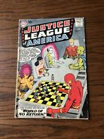"""Justice League of America #1 - November 1960  - """"First appearance of JLA!"""""""