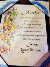 Mothers Day Plaque