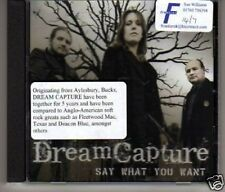 (F93) Dream Capture, Say What You Want - DJ CD