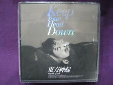TOHOSHINKI DBSK TVXQ / KEEP YOUR HEAD DOWN Repackage cd