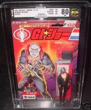 G.I. Joe ARAH 1986 Takara Destro MOC AFA 80