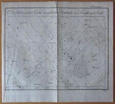 Bode: Decorative Celestial Map for February  - 1778