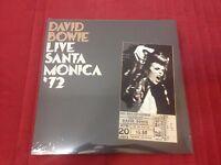 DAVID BOWIE Live Santa Monica '72 SEALED 2LP Vinyl #6087