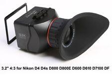 "GGS Swivi S2 3.2"" 4:3 Nikon D4 D800 D800E D600 D610 D7100 DF 6D LCD Viewfinder"