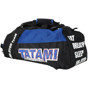 Tatami Fightwear Jiu-Jitsu Gear Bag - Black/Blue