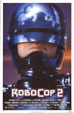 Peter Weller is back in 1990's ROBOCOP 2 original rolled 27x41 O/S poster