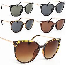Women's Fashion Ladies Large Oversized Cat Eye Sunglasses 80s