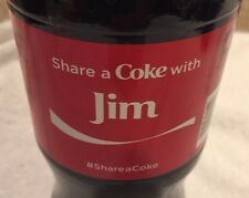 Share a COKE with Jim 20 fl oz Collectible Bottle Rare Coca-Cola 10/26/15