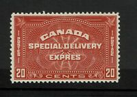 Canada SC# E5, Mint Hinged, Small Hinge Remnant - S8497