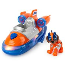 PAW Patrol, Mighty Pups Super PAWs Zuma's Deluxe Vehicle with Lights and Sounds