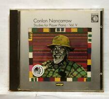 NANCARROW studies for player piano vol.5 WERGO CD no IFPI full silver NM