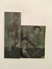 Yvon Durelle Middleweight Boxing Fighter Champ Original Newspaper Printing Plate