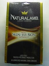 Trojan Naturalamb Luxury Lubricated Skin Condoms 10 CT NEW  Exp 2020