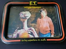 1982 Et  The Extra Terrestrial metal food tray