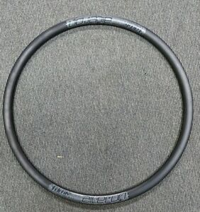 Velocity Aileron 24H Symmetrical Disc Brake Matt Black Bicycle Wheel Rim USED
