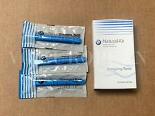 BMW Genuine Natural Air Air Freshener Energizing Tonic Refill Set of 3 NEW