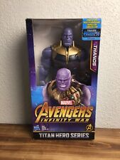 MARVEL-AVENGERS INFINITY WAR /TITAN HERO SERIES THANOS  BRAND NEW/IN HAND!!!