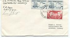 1971 Scott Base Ross Dependency Antarctic Party Polar Antarctic Cover SIGNED