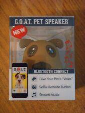 G.O.A.T. PET PRODUCTS PET SPEAKER FRANKIE PUG PET VOICE MUSIC SELFIE BLUETOOTH