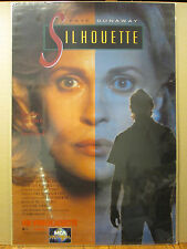 Vintage Original Siluette Faye Dunnaway Poster 1990 7923