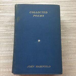 The Collected Poems of John Masefield - 1929 William Heinemann Hardback