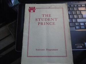 1950 Tunbridge Wells Amateur Operatic Dramatic Soc, The Student Prince, Opera