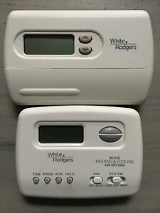 White Rodgers Programmable Thermostat Set Of 2 Working