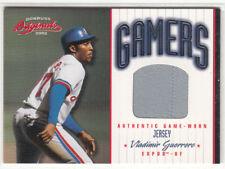 2002 Donruss Originals Gamers #44 Vladimir Guerrero /500 Montreal Expos