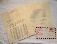 Vintage letter from Santa Claus 1950