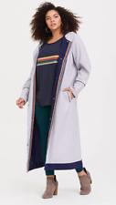Torrid 13th DOCTOR WHO Thirteenth BBC Halloween Costume Trench Coat Plus 4X, 5X