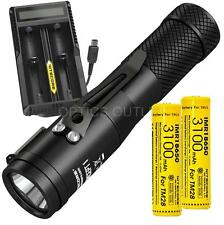 Nitecore Concept 1 (C1) 1800 Lumen LED Compact EDC Flashlight UM20 Charge Bundle