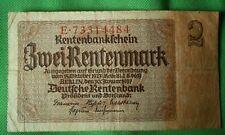 1937 GERMAN 2 RENTENMARK BANKNOTE - E.73314484