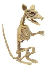 SKELETON BONES RAT HALLOWEEN dead fossil DECOR/PROP NEW