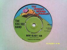 """THE KIKI DEE BAND HOW GLAD I AM 7"""" SINGLE 1975 N/MINT"""
