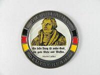 Martin Luther Metall Magnet Souvenir 5,5cm,Deutschland Germany