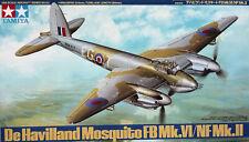 "Tamiya 1:48 DeHavilland ""Mosquito""FB Mk. VI/NF Mk. II. Kit Nr. 62"