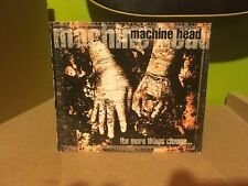 New listing machine head the more things change  CD lamb of god slayer fear factory