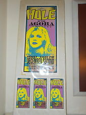 Hole ORIGINAL ARMINSKI POSTER CARD SET 1994 Agora Theatre Cleveland December 2
