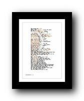 BRUCE SPRINGSTEEN Thunder Road ❤ song lyric poster art typography Print #39