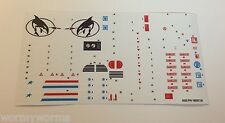 GI Joe Killer Whale W.H.A.L.E. Sticker Decal Sheet