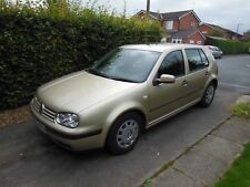 Volkswagen Golf Mark IV 1.6 16v 2002 Gold Petrol