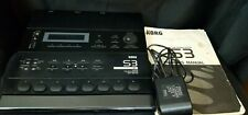 KORG S3 Rhythm Workstation With Owners Manual & Adapter, Drum Machine, Sequencer