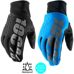 100% Hydromatic Waterproof Brisker Gloves Cold Weather MTB MX Motocross Cycling