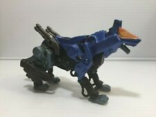 Zoids Blue Command Wolf Figure Hasbro Tomy 2002