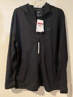 NEW Sz LG Mens Nike Sportswear Tech Pack Full Zip Jacket Hoodie Black BV4489-010