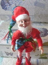 "Elf Charming Whimsical 17"" Sprite Gnome Pixie Imp Fairytale Lovely Detail"