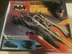 Batman Dark Knight Collection Kenner Turbojet Batwing 1990 TURBO JET
