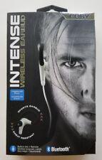 New Coby Intense Wireless Earbud Sweat Resistant Sports Earbud CEBT-400-Wht